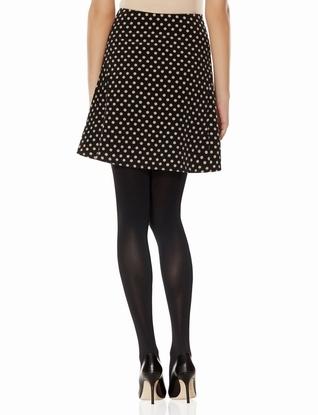 The Limited OBR Polka Dot Skater Skirt