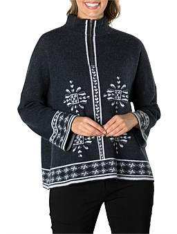 Marc O'Polo Marco Polo Long Sleeve Relaxed Fauna Knit