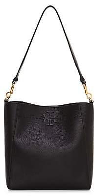 Tory Burch Women's McGraw Leather Hobo Bag