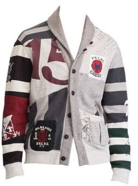 Polo Ralph Lauren Printed Fleece Cardigan