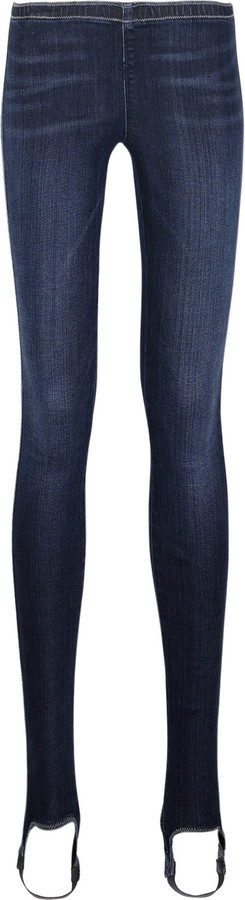 Citizens of Humanity Low-rise stirrup denim leggings