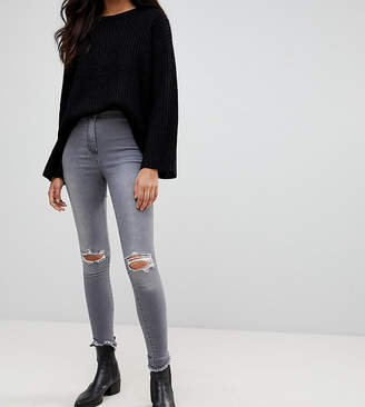 Parisian Tall Ripped Knee Jeggings