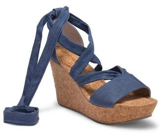 a1549e10b195 ... Kenneth Cole Reaction Sole Rise Platform Wedge Sandal
