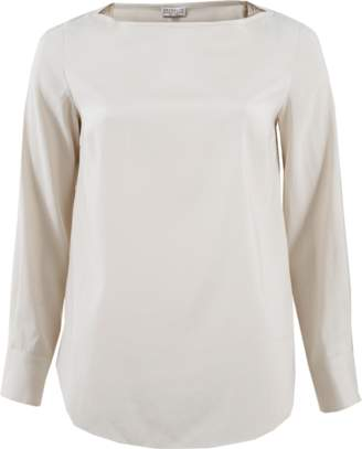 Brunello Cucinelli Monili Detail Blouse