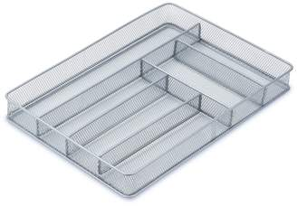 Honey-Can-Do 6-Compartment Steel Mesh Cutlery Tray