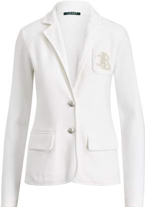 Lauren Ralph Lauren Ralph Lauren Bullion-Crest Knit Blazer