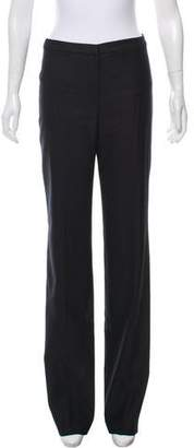 Gianni Versace Mid-Rise Wool Pants