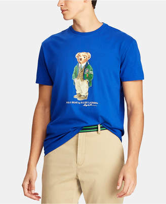 Polo Ralph Lauren Men Classic Fit Polo Bear Cotton T-Shirt