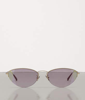 Bottega Veneta SUNGLASSES IN METAL