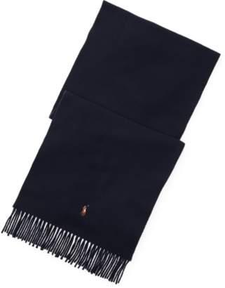 Ralph Lauren Fringed Virgin Wool Scarf