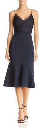 Aijek Lace-Bodice Dress