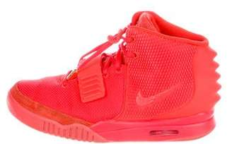 Nike x Kanye West Air Yeezy 2 SP Red October Sneakers