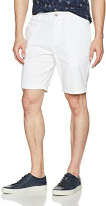 Nautica Men's Slim Fit Flat Front Stretch Chino Solid Short
