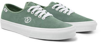 Vans UA Authentic One Piece Suede Sneakers - Sage green