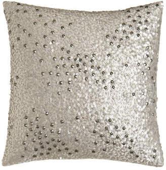 "Donna Karan Home Reflection Sequin Pillow, 12""Sq."