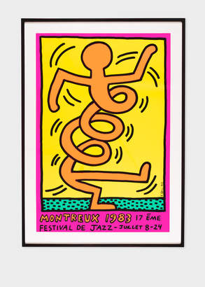 Paul Smith Orange Man Print - Keith Haring - Montreux Jazz Festival 1983