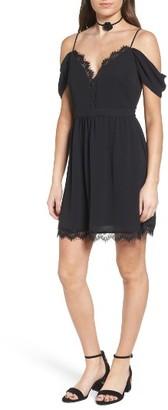 Women's Wayf Bluff Lace Minidress $75 thestylecure.com