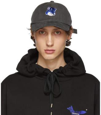 MAISON KITSUNÉ Grey ADER error Edition Fox Head Cap