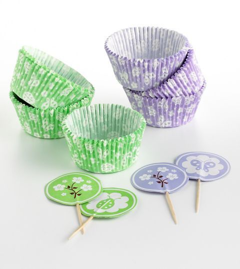 Martha Stewart Collection Cupcake Liners/Toppers