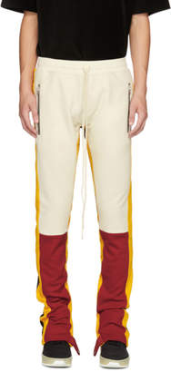 Fear Of God Red and Yellow Motorcross Lounge Pants