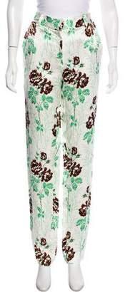 Victoria Beckham Floral Print Skinny Pant w/ Tags