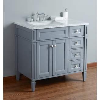 Mistana Mauricio French 36 Single Bathroom Vanity Set