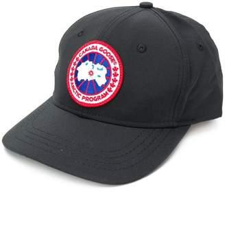 Canada Goose logo patch baseball cap