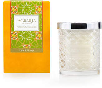 Agraria Lime and Orange Blossom Cane Candle, 3.4 oz.