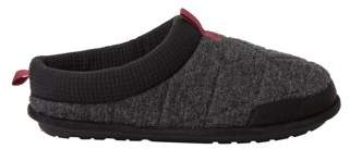 Dearfoams DF by Men's Quilted Clog Slippers