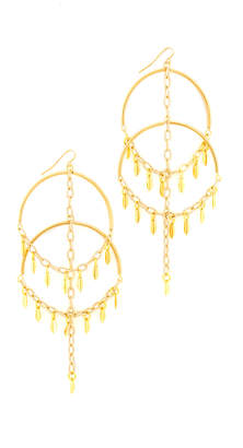 Vanessa Mooney The Cannes Earrings $80 thestylecure.com