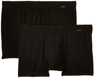 Esprit Men's 995EF2T908 Boxer Shorts, Noir (Black), (Pack of 2
