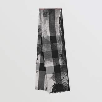 Burberry White Cashmere Scarves   Wraps For Women - ShopStyle UK f2fb086ea8567