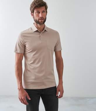 Reiss ELLIOT Mercerised Polo Shirt