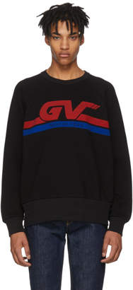 Givenchy Black 'GV World Tour' Sweatshirt