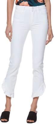 Paige Jacqueline Crop Straight Leg Jeans