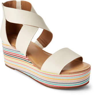 Lucky Brand Milk Gwindolin Platform Wedge Sandals