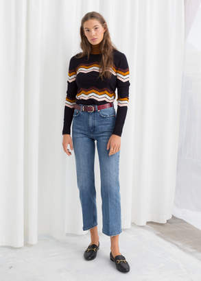 And other stories High Cropped Kick Flare Jeans