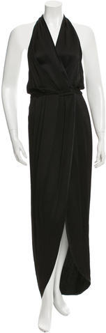 Marc Jacobs Marc Jacobs Halter Evening Dress
