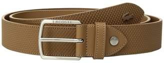 Lacoste Chantaco Leather Belt Men's Belts