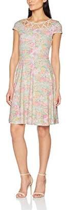 Fever London Women's Frances Cut Out Dress,(Manufacturer Size:36)