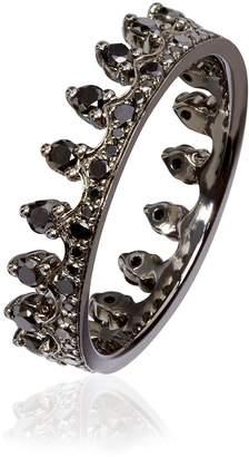 Black Diamond Annoushka Crown Ring