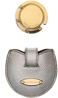 Sergio Rossi Gold Plated Purse Hook - Unisex