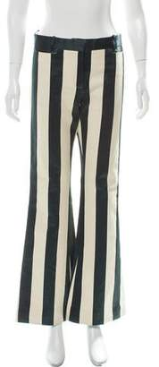 Celine Flared Striped Pants