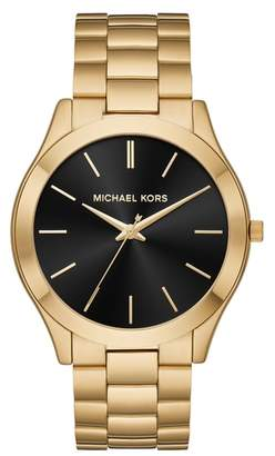 Michael Kors Slim Runway Bracelet Watch, 44mm