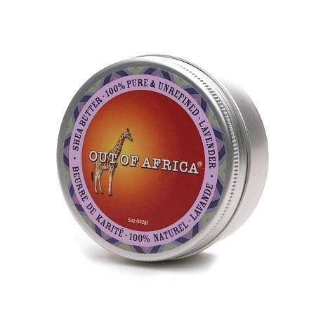 Out Of Africa 100% Pure & Unrefined Shea Butter Tin Lavender