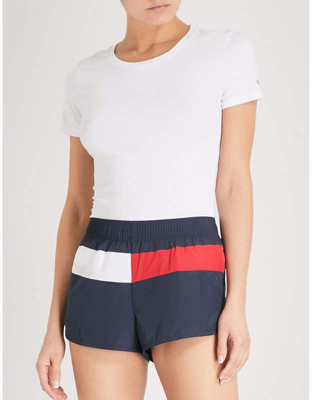 Runner shell shorts