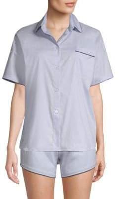 MAISON DU SOIR Jack Short-Sleeve Sleepshirt