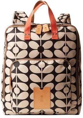 Orla Kiely Sixties Stem Nylon Luggage Large Rucksack Backpack Bags