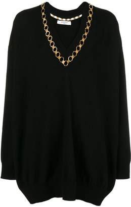 Givenchy embellished V-neck sweater