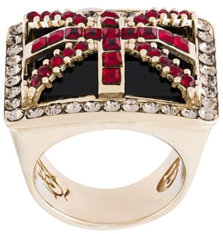 Alexander McQueenAlexander McQueen 'Britannia' ring